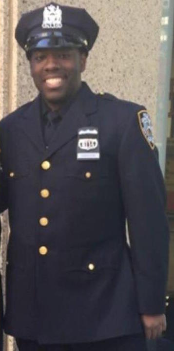 Officer Vincent Harrison; Photo: abc7ny.com