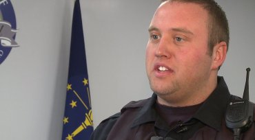 Officer Tyler Croy;  Photo: fox59.com