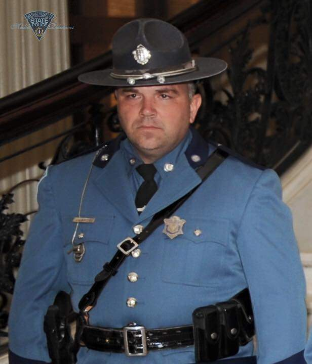 Trooper Thomas Clardy;  Photo: Mass. State Police