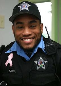 Officer Tim Jones;  Photo: Park Forest Police Dept.
