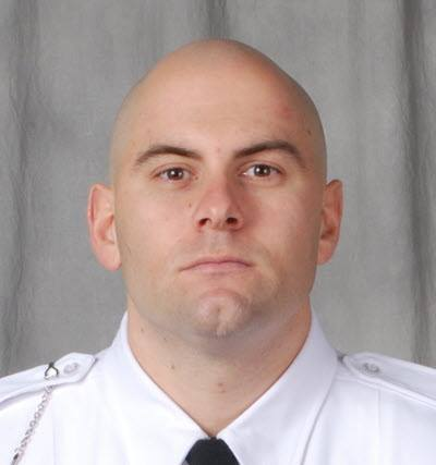 Officer Brad Forster; Photo: Columbus Division of Police via Facebook