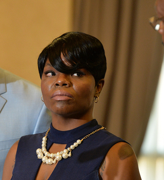 Ebony Dickens; Photo: Brant Sanderlin/AJC.com