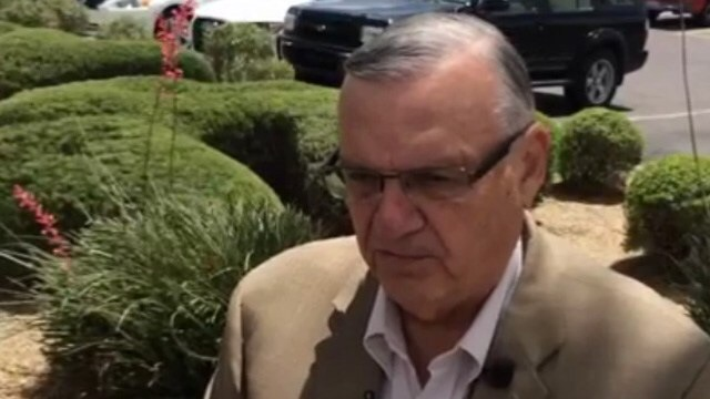 Sheriff Joe Arpaio;  Photo: KPHO via azfamily.com