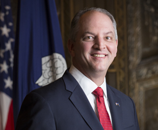 Louisiana Governor John Bel Edwards;  Photo: Marie Constantin via gov.louisiana.gov