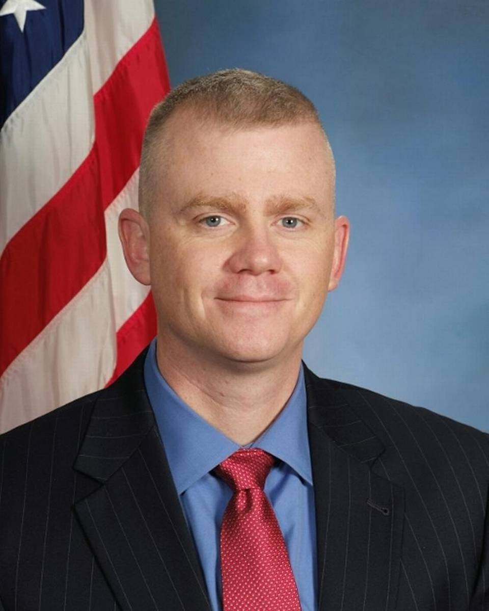 Detective Brad Lancaster;  Photo: Kansas City, KS Police Dept.