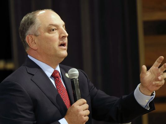 Gov. John Bel Edwards; Photo: via ktbs.com