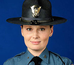 Trooper Jaimie Jursevics; Photo: Colorado State Police