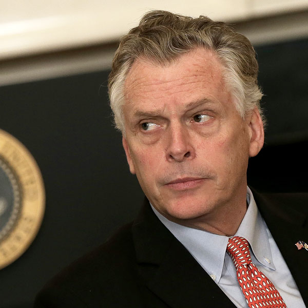 Governor Terry McAuliffe;  Photo: Win McNamee/Getty