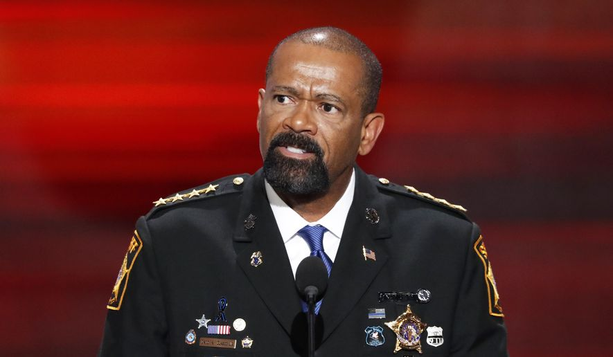 Sheriff David Clarke; Photo: Scott Applewhite/AP