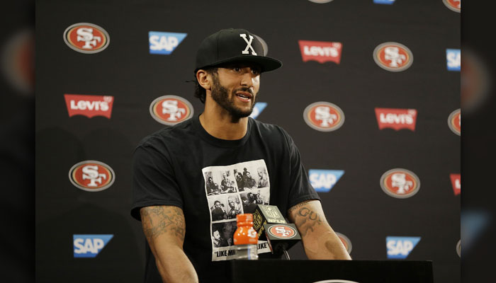Colin Kaepernick;  Photo: Ben Margot/AP