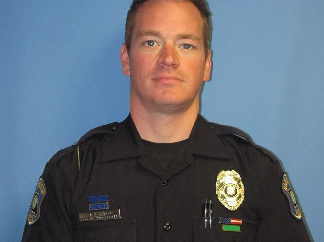 Officer Craig Tudor;  Photo: Hazelwood Police Dept.