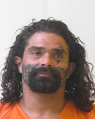 Suspect Joseph Moreno; Photo: Otero County