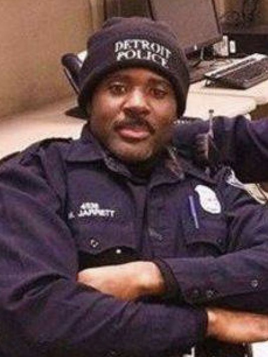 Officer Myron Jarrett; Photo: Detroit Police Dept.