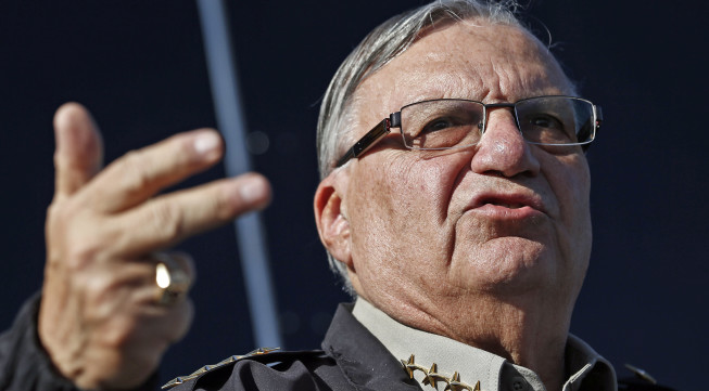 Sheriff Joe Arpaio;  Photo: Ross Franklin