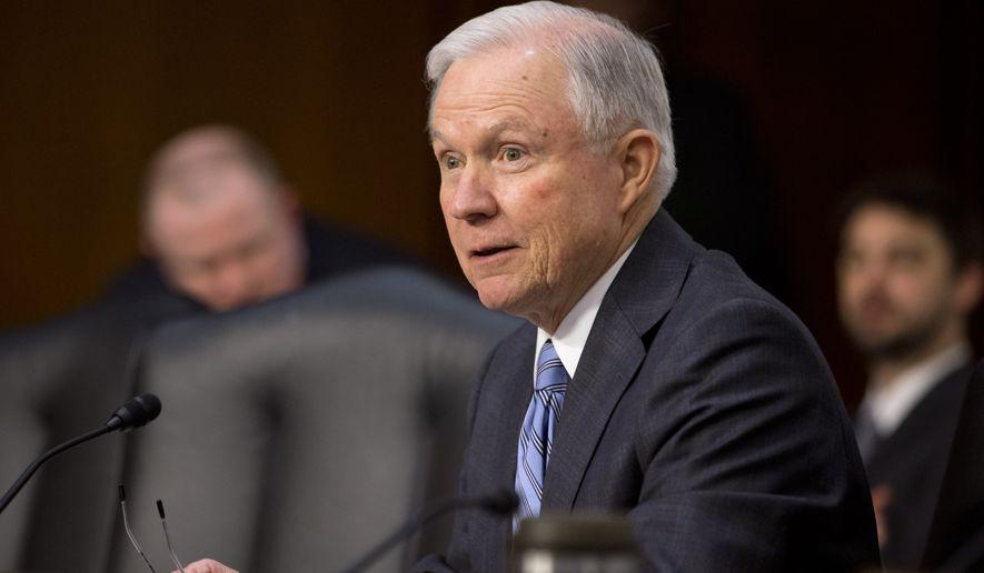 Senator Jeff Sessions;  Photo: AP via washingtontimes.com