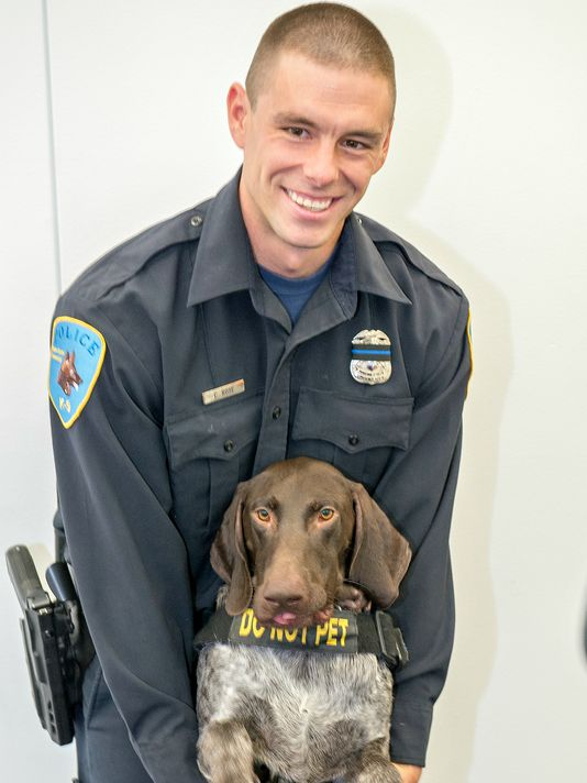 Officer Collin Rose;  Photo: Wayne State University Police