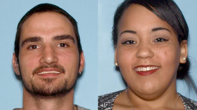 Rudy Lee Vinson and Annastasia Nicole Earwood;  Photo: Cartersville Police Dept.