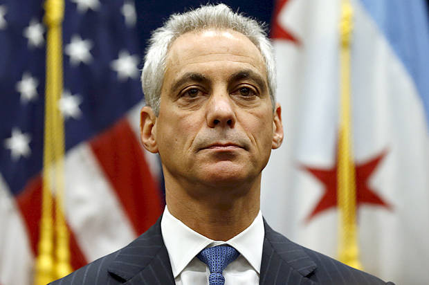 Chicago Rahm Emanuel;  Photo: Jim Young/Reuters