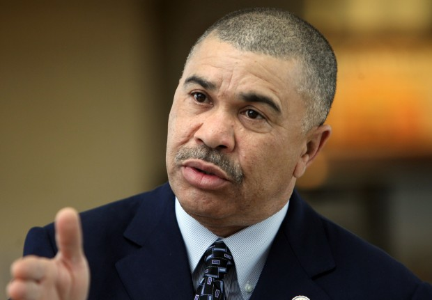 Rep. Lacy Clay;  Photo: Laurie Skrivan via stltoday.com