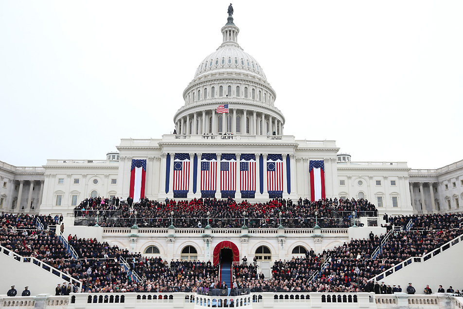 2013 inauguration;  Photo: Justin Sullivan