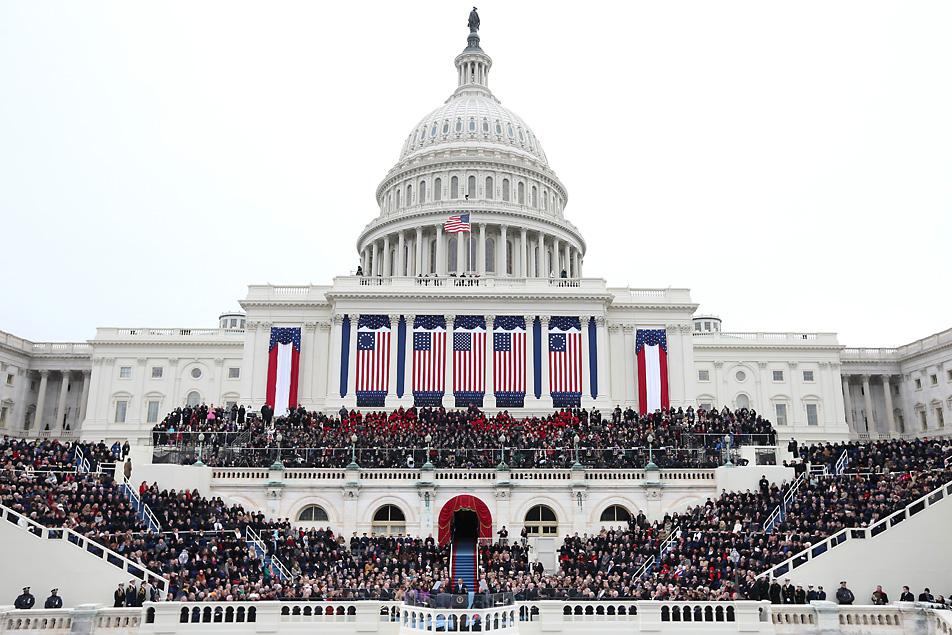 2013 inauguration; Photo: Justin Sullivan