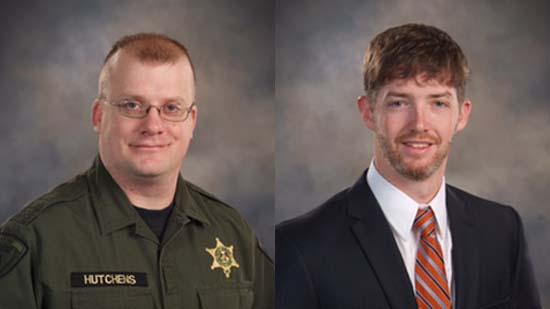 Deputies Lee Hutchens and Hunter Garrett; Photo: DCSO
