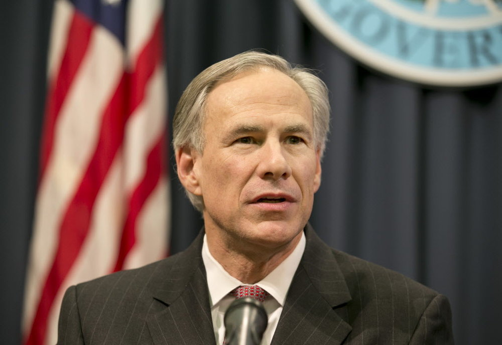 Gov. Greg Abbott;  Photo: via dallasnews.com