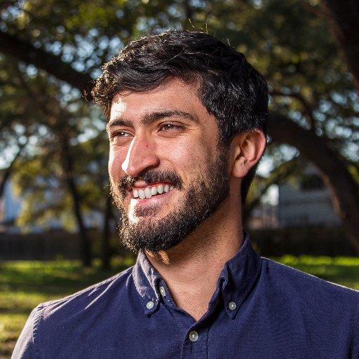Austin Councilman Gregorio Casar;  Photo: via Twitter @gregcasar