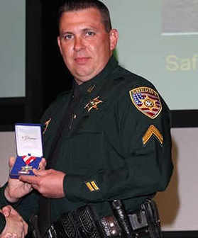 Deputy Shawn Anderson;  Photo: East Baton Rouge Sheriff's Office