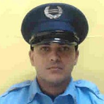 Agent Benjamin De los Santos-Barbosa; Photo: PRPD