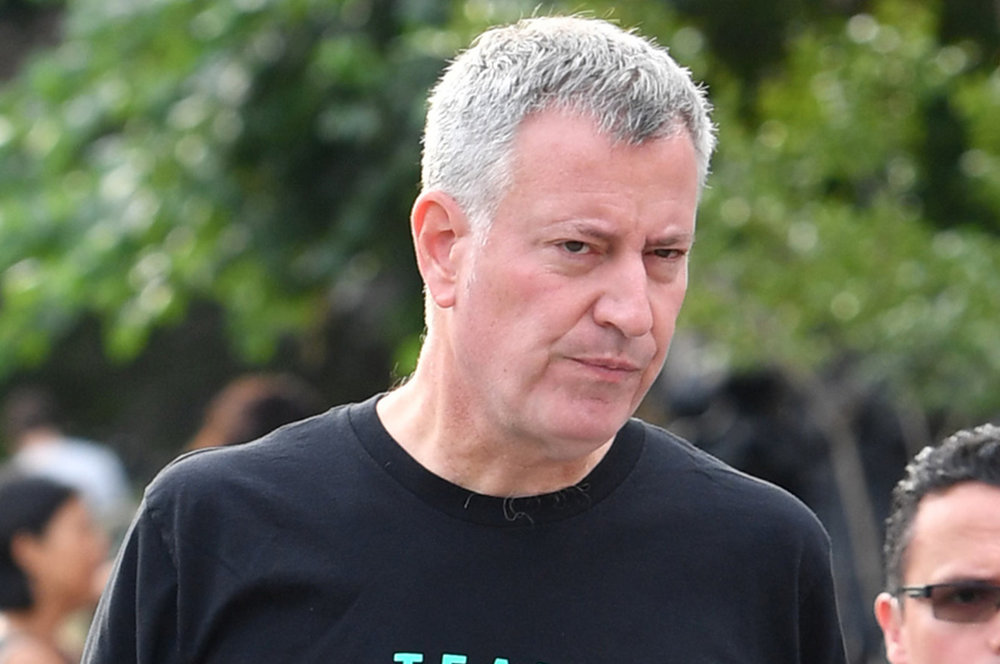 Mayor Bill de Blasio;  Photo: Paul Martinka