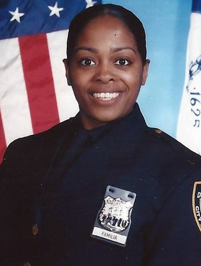 Officer Miosotis Familia;  Photo: NYPD