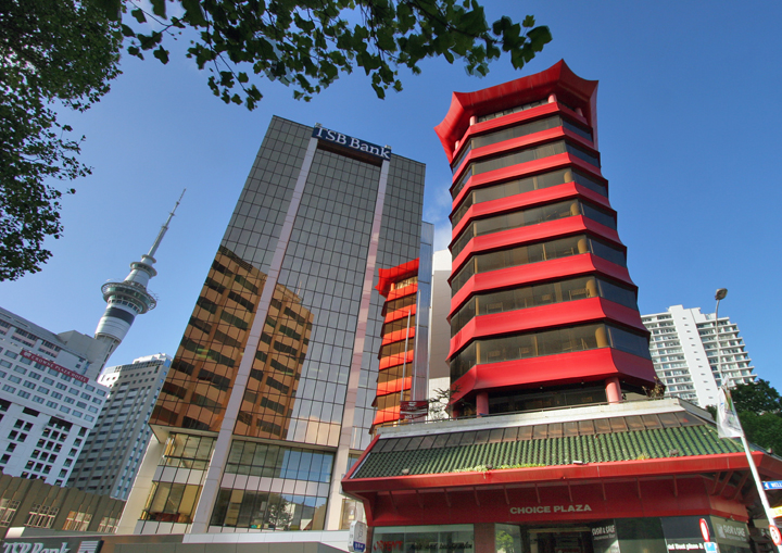 Choice Plaza CBD Auckland by Sang Commercial Architects Auckland