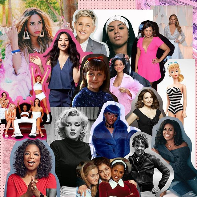 ✨💖 happy IWD y'all! 💪🏼💪🏼💪🏼💪🏼💪🏼 here are a few women (fictional + IRL) that inspire me on the regs ☁️☁️☁️ hope your day is filled with confidence, empowerment and magic 💖✨ #burgerpawty #iwd #girlpower