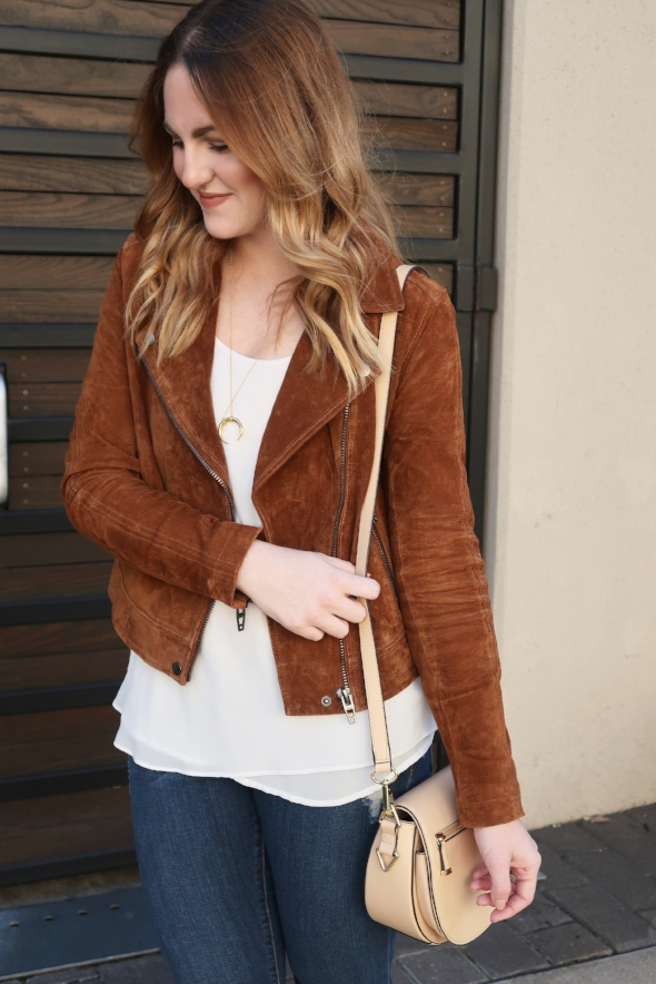 Suede Jacket for Fall