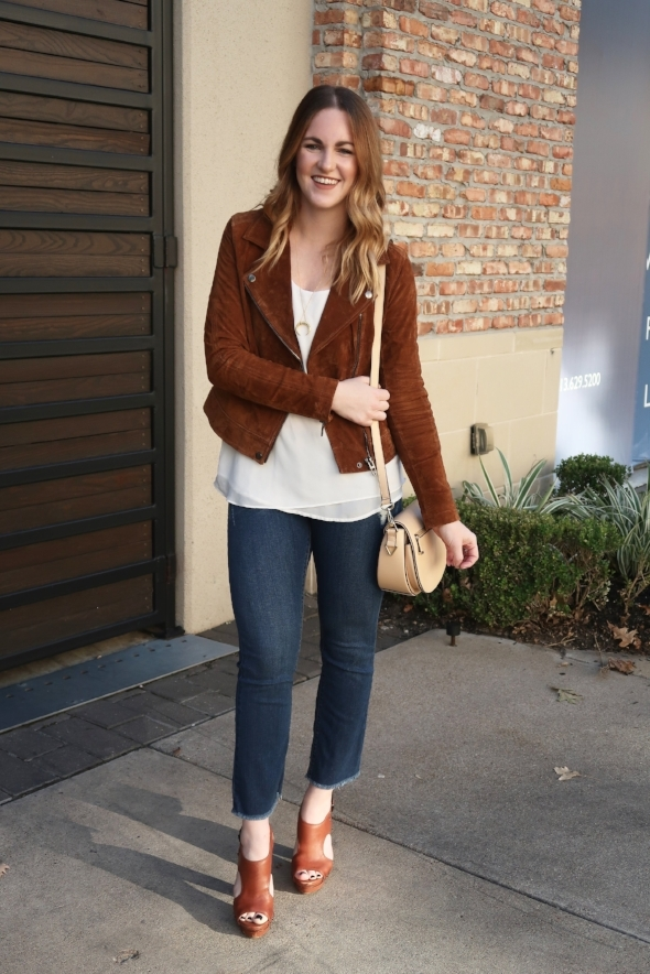 Suede Jacket Outfit
