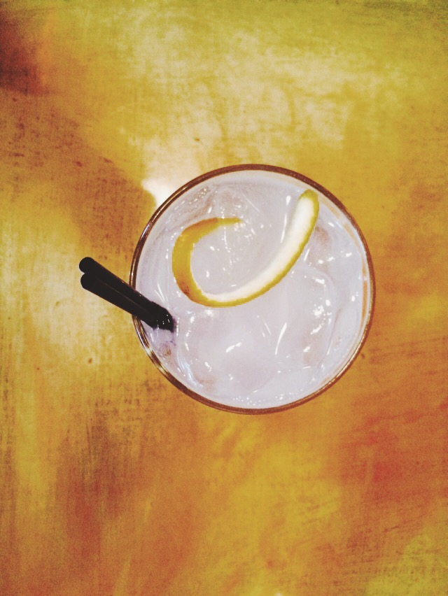 Orange Blossom Gimlet from Cafe Mogador