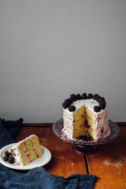 Vanilla Almond Birthday Cake Katherine In Brooklyn