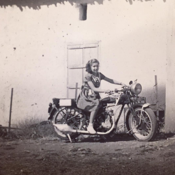 Tracing the roots of the motorcycle bug - mounira shia in lebanon
