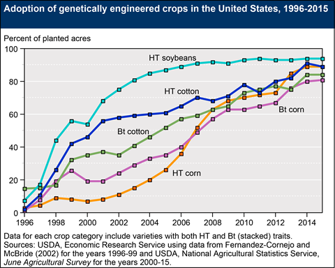http://www.ers.usda.gov/data-products/adoption-of-genetically-engineered-crops-in-the-us/recent-trends-in-ge-adoption.aspx#.Ud1_UWTwJvb