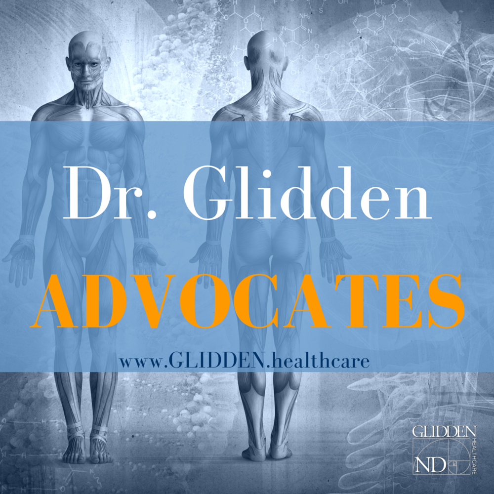 Become a Dr. Glidden Advocate!