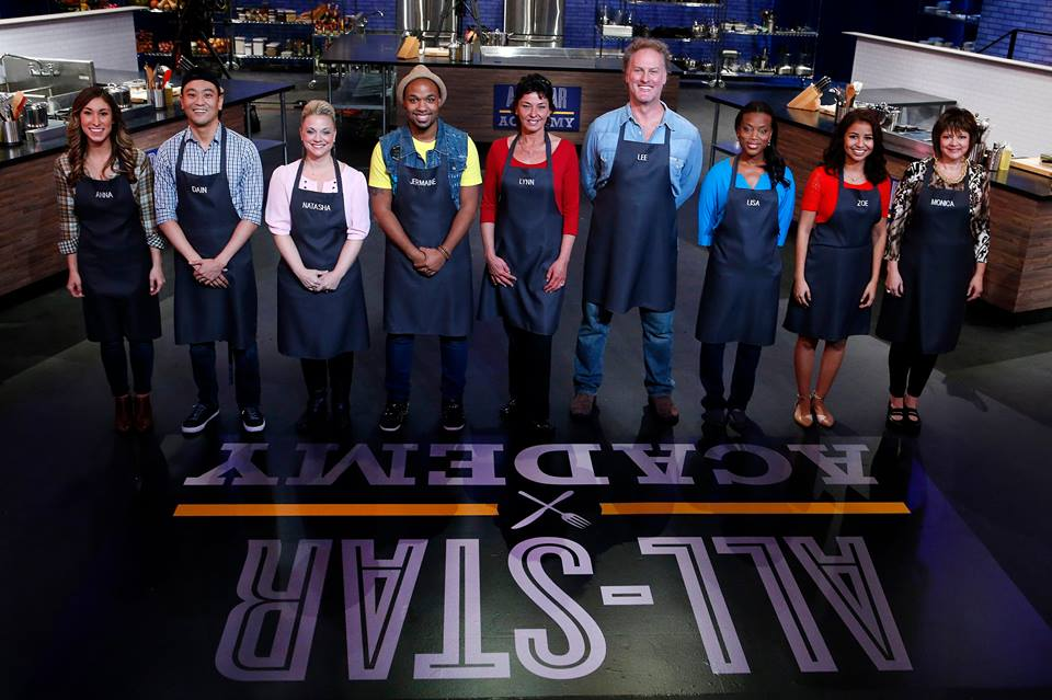 Chef Jermaine Wright debuts his culinary talents on Food Network's All Star Academy