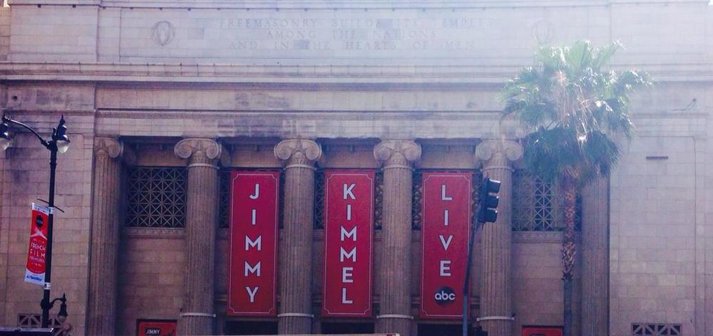 The  Jimmy Kimmel Live  studio across from Dolby Theater.