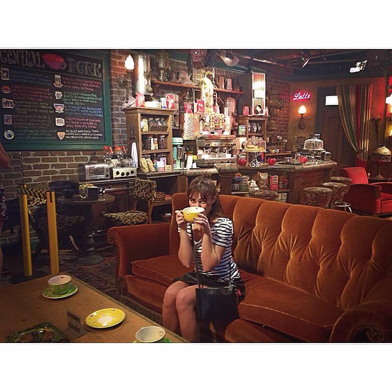 Central Perk from the  Friends  set.