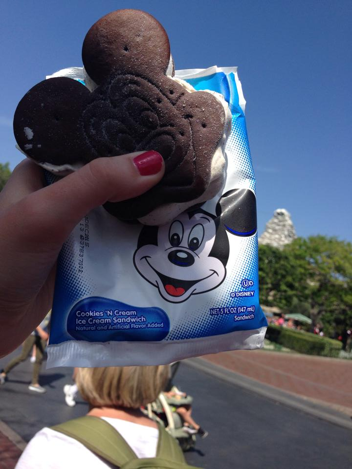 Everything takes better when it's shaped like Mickey Mouse.
