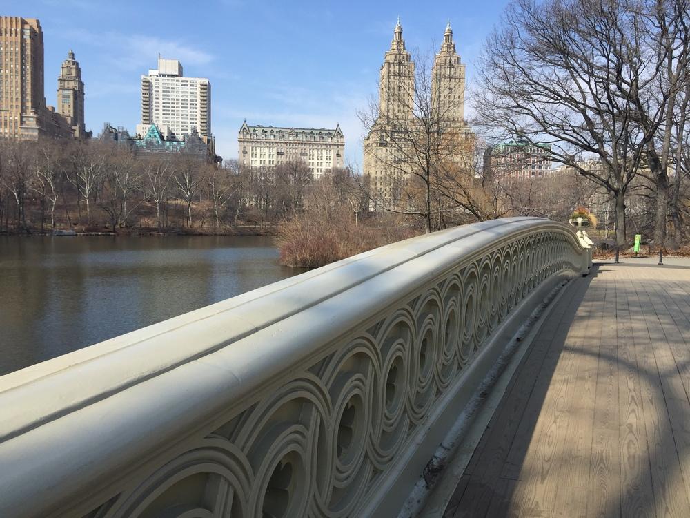The Bow Bridge.