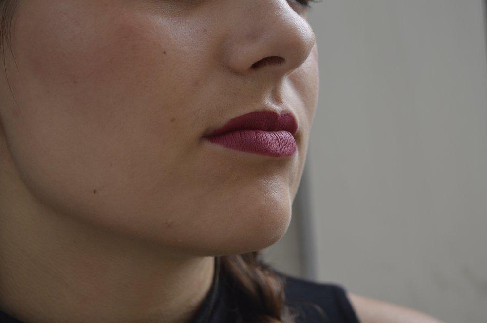 """""""Big Splender"""" (rose) lip stainer from  Smashbox."""