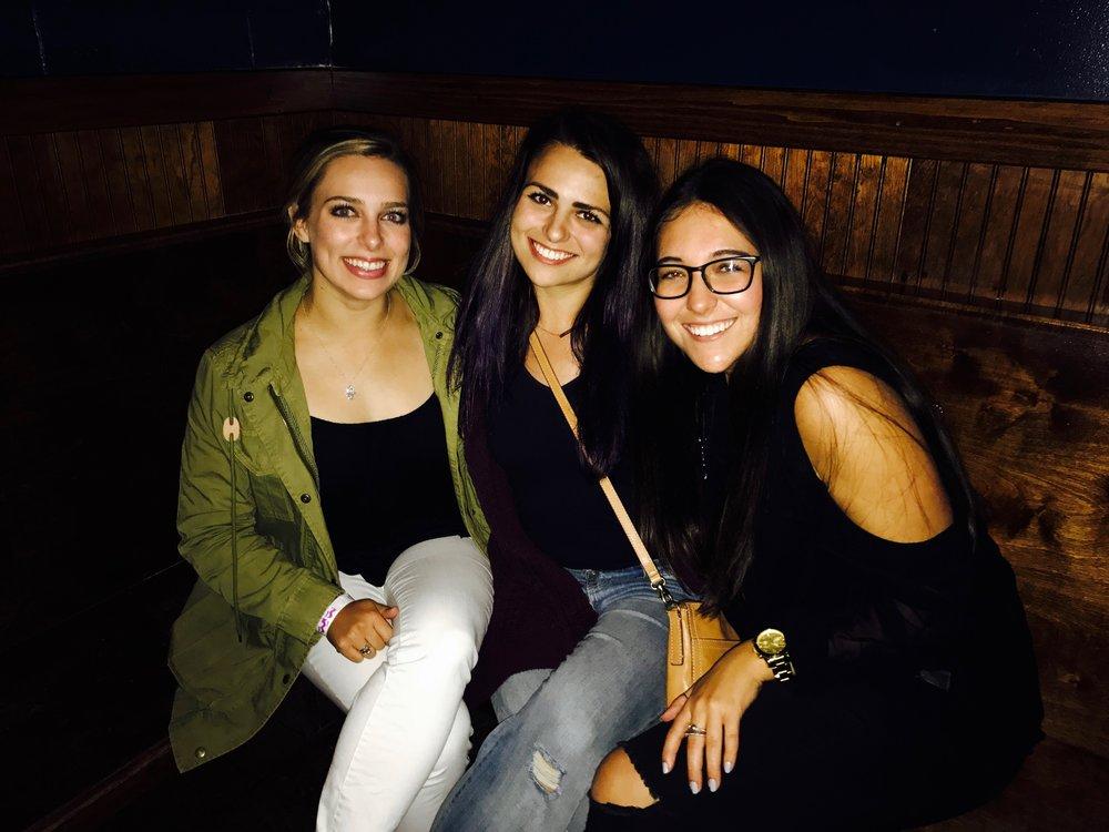 Me, Lauren, and her best friend Kaitlyn.