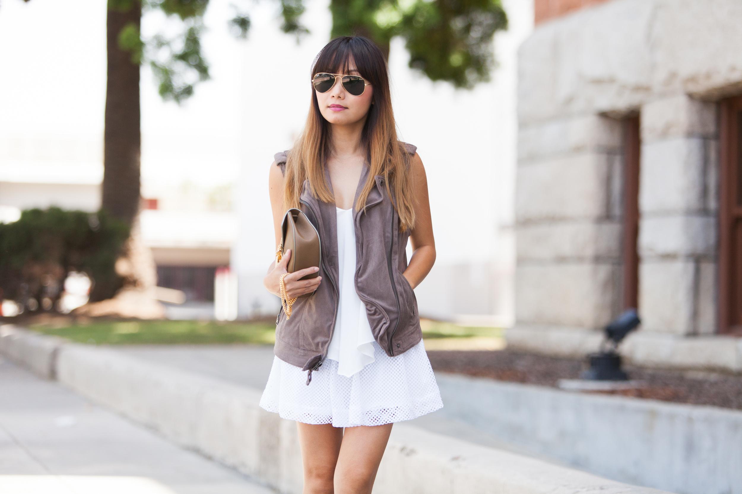 White Crochet Skirt (4 of 12)