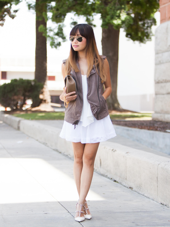 White Crochet Skirt (5 of 12)